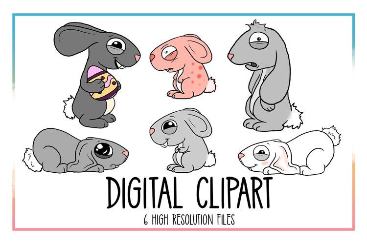 Bunnie Clipart-Rabbit Clipart-Animal Clipart-Easter-Egg-Spring Animals-Spring-Spring Clipart-Easter Egg-Bunnie-Decoration-Digital Clipart - Free Design of The Week Design0