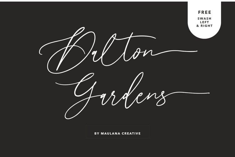 Dalton Gardens - Script Font example image 1