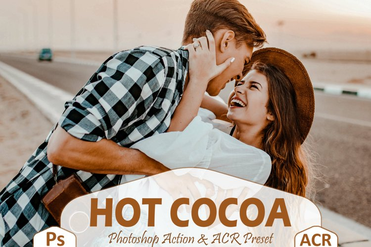 10 Hot Cocoa Photoshop Actions And ACR Presets, Chocolate Ps