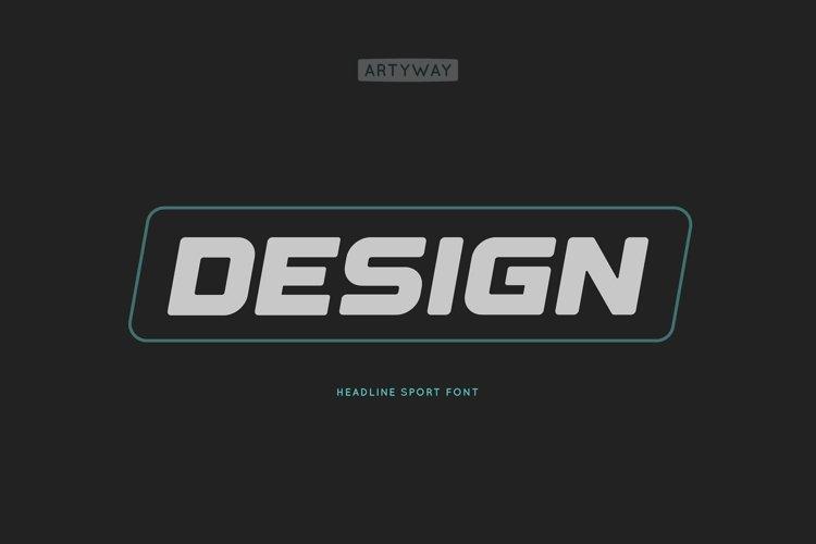 Headline Design Font example image 1
