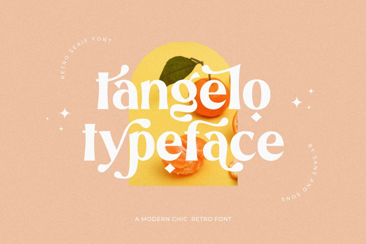 Tangelo - Retro Font - Free Font Of The Week