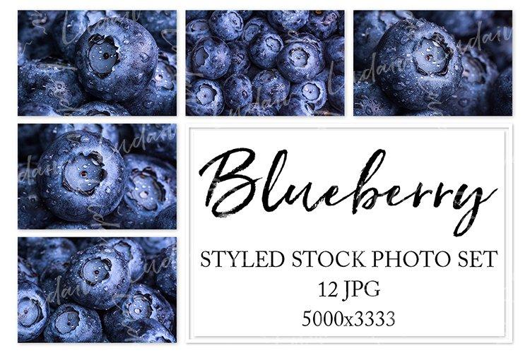 Blueberry. Styled stock photo set. example image 1