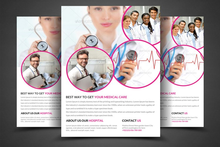 Doctors Flyer Template  example image 1