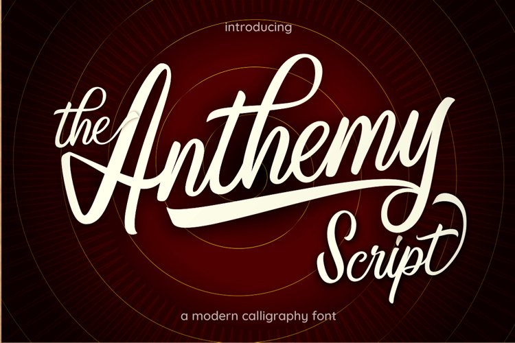 Anthemy Script example image 1