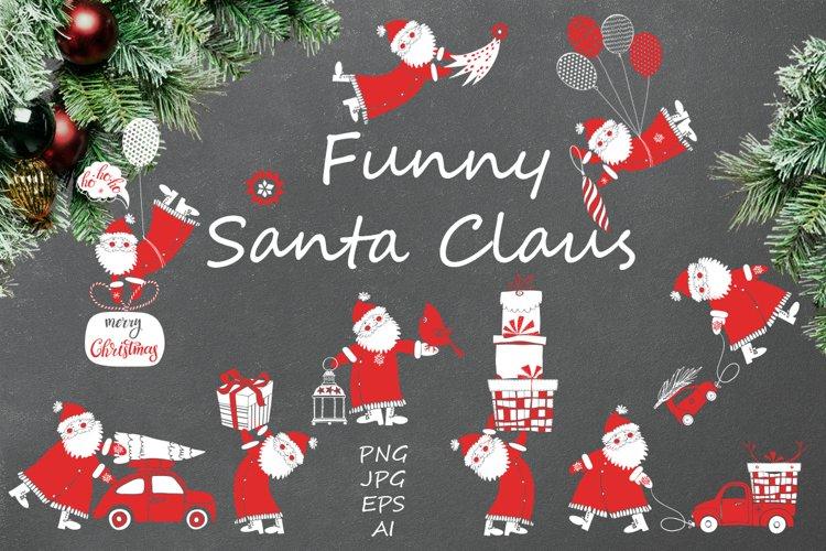 Funny Santa Claus. example image 1