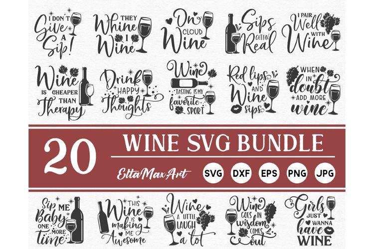 Wine Bundle SVG, Wine Svg, Wine Sayings Svg, Wine Glass svg,