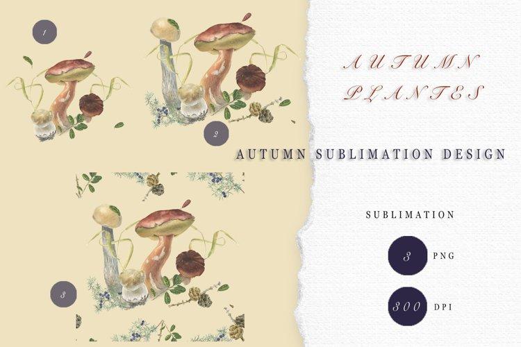 Autumn Sublimations Design.