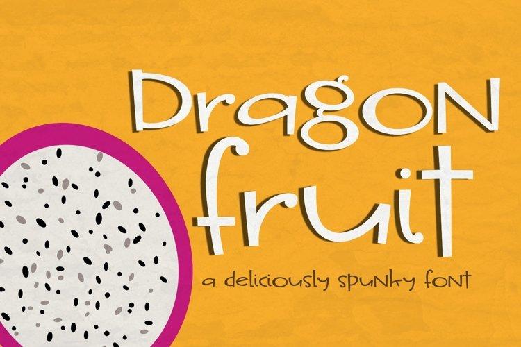 Dragon Fruit Handwritten Font