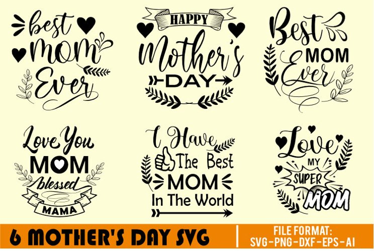 Mothers Day SVG files   Silhouette and Cricut Cutting Files