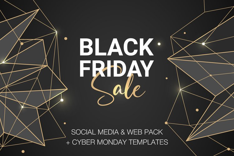 Black Friday & Cyber Monday banners