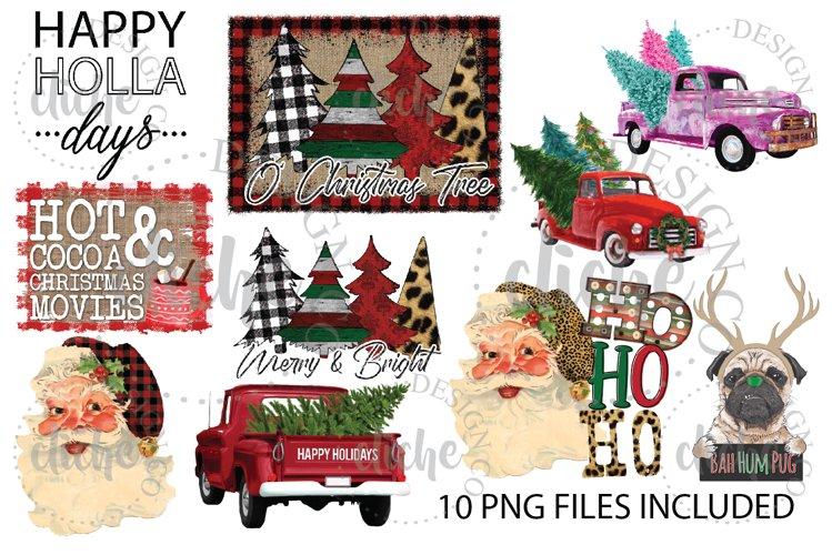 Christmas Sublimation Design Bundle