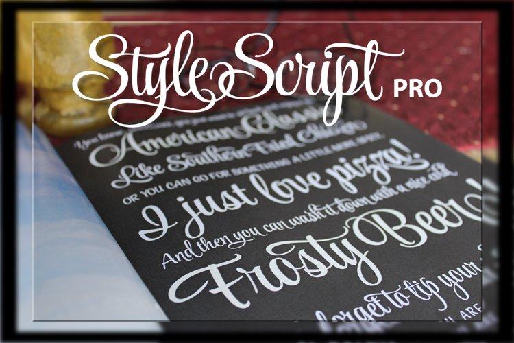 StyleScript Pro - Part of the Amazing Scripts Bundle!