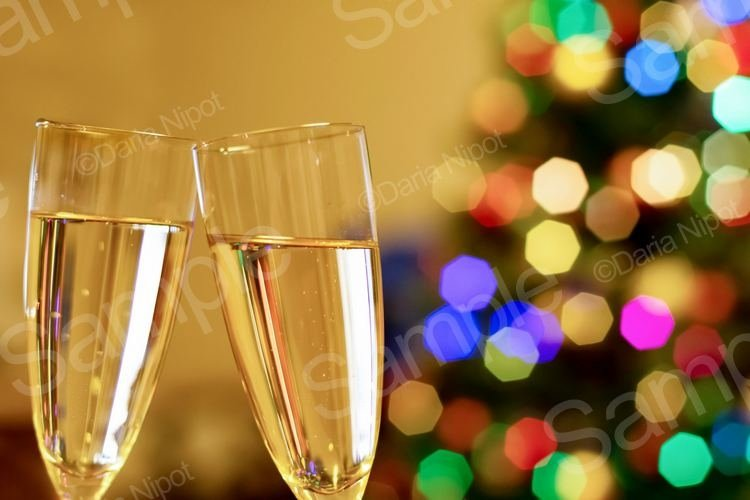 Happy New Year and Merry Christmas Concept example image 1