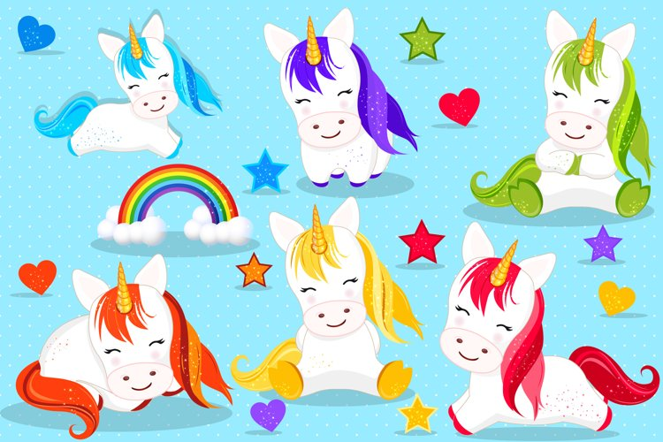 Unicorn clipart, Unicorn graphics example image 1