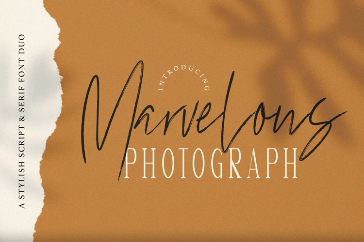 Marvelous Photograph - Font Duo example image 1