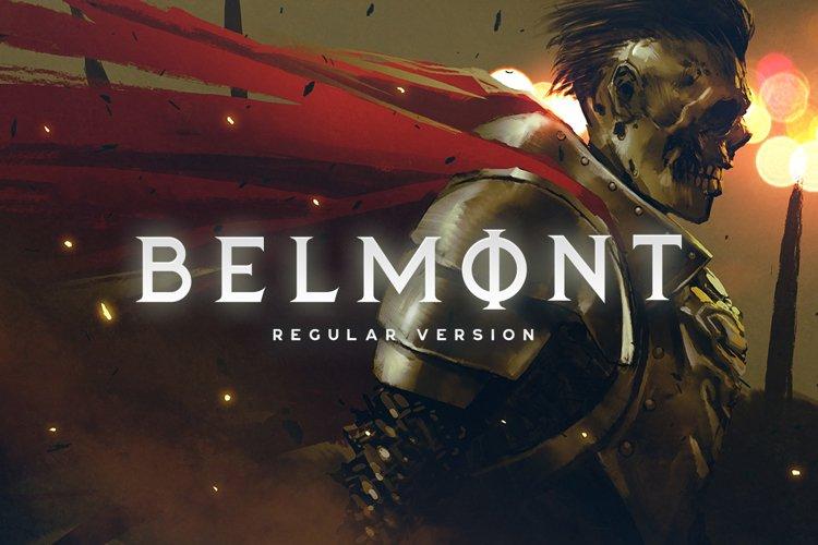 Belmont Typeface example image 1