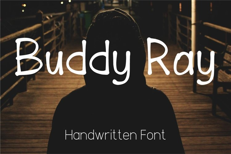 Buddy Ray Handwritten Font