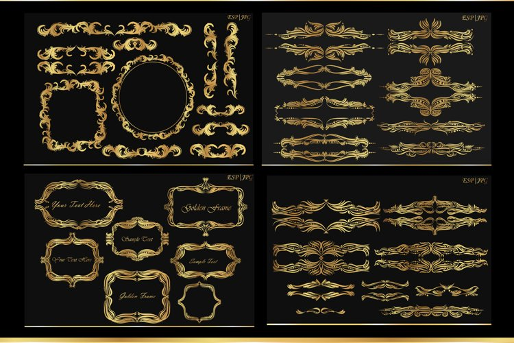 Vintage frames and decorations example image 1