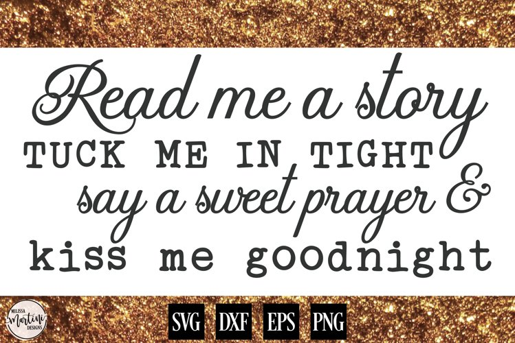 Read Me A Story, Tuck Me Goodnight example image 1