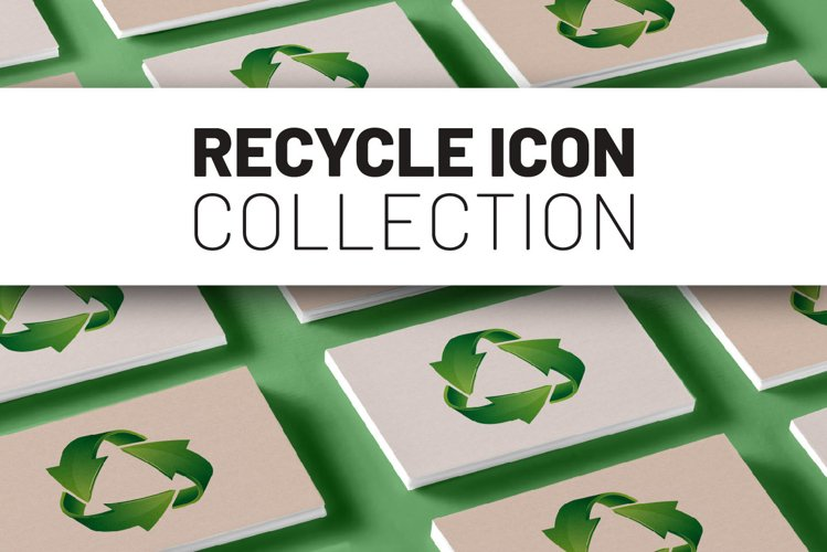 Recycle icon collection. example image 1
