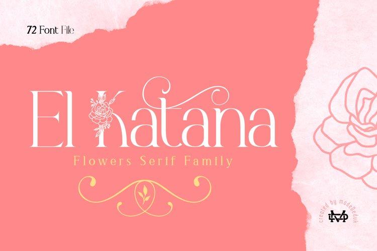 El Katana Family example image 1