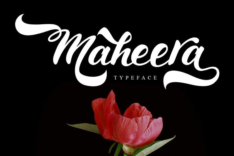 Maheera Font example image 1