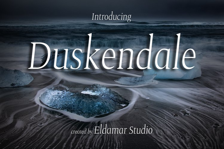 Duskendale Font example image 1