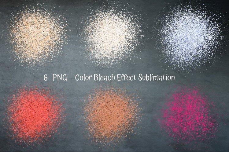 Color Bleach Effect Sublimation. Sublimation Patches