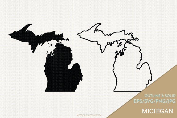 Michigan Vector / Clip Art