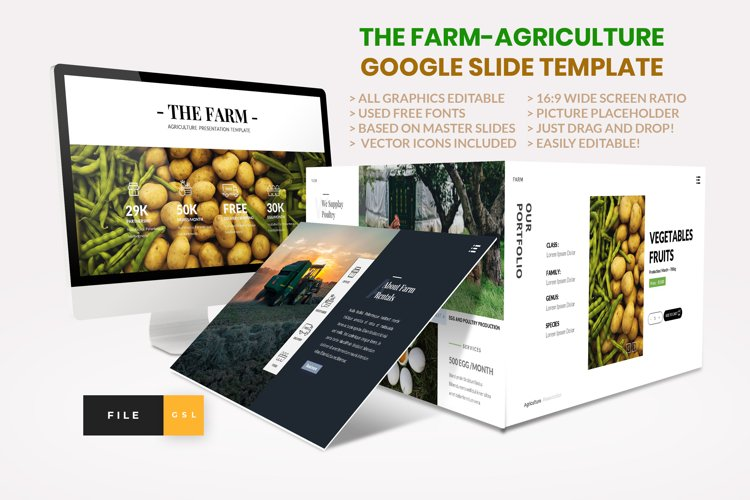 Farm - Agriculture Google Slide Template
