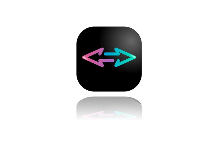 vector button left right . vector illustration example image 1