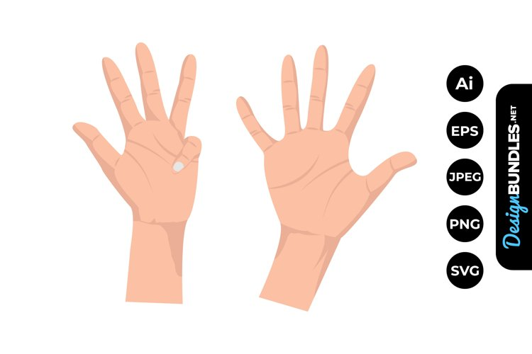 Finger Clipart example image 1