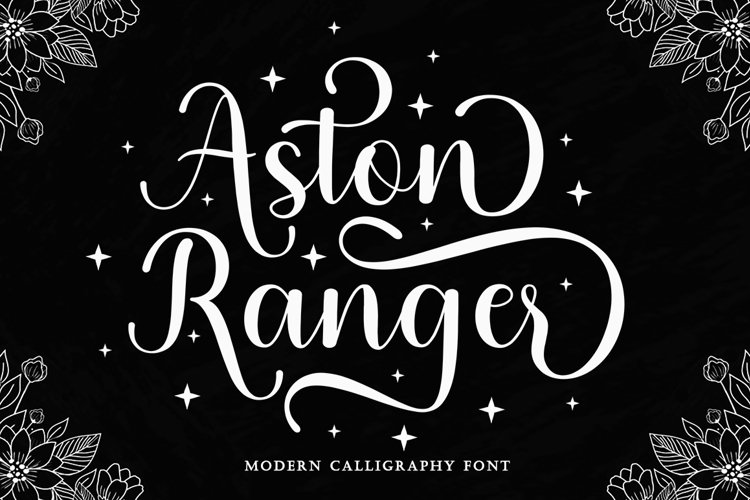 Aston Ranger - Modern Script example image 1