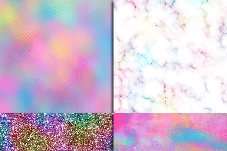 Unicorn Textures Digital Paper - Free Design of The Week Design0