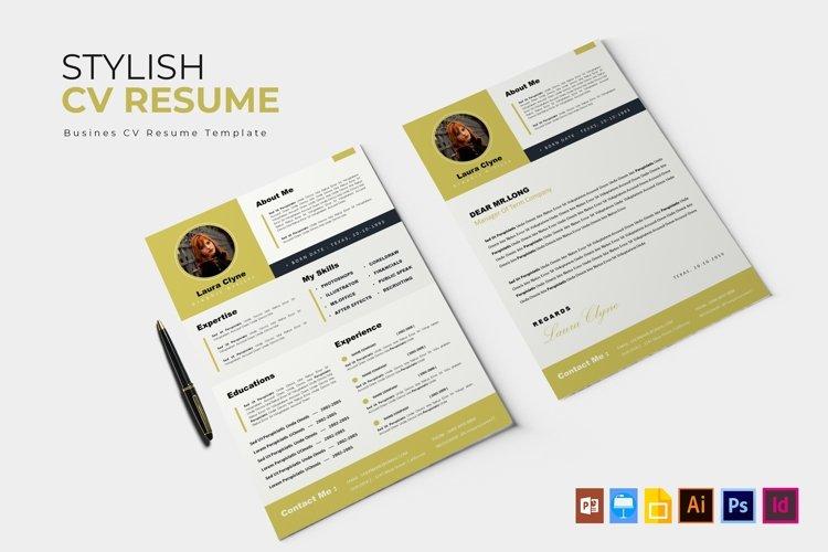 Stylish | CV & Resume example image 1