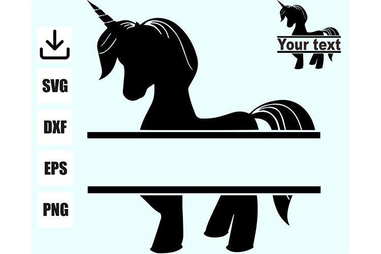 Unicorn for monogram example image 1