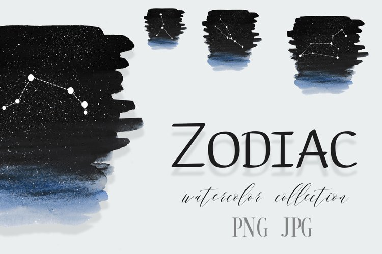 Zodiac sign clipart PNG,Personalised Minimalistic Zodiac, example image 1