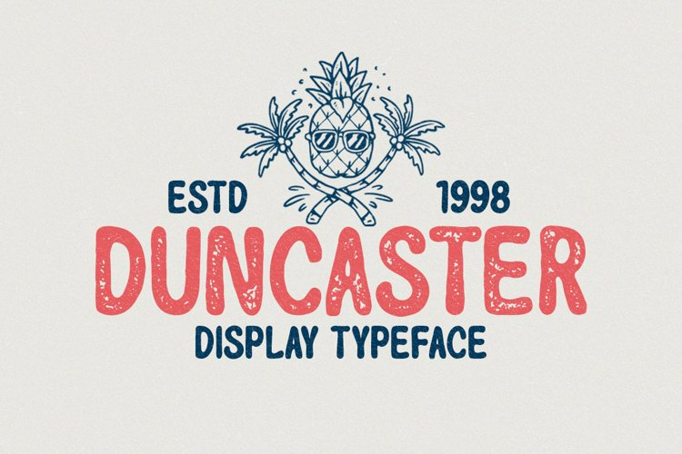 Duncaster - Display Typeface example image 1