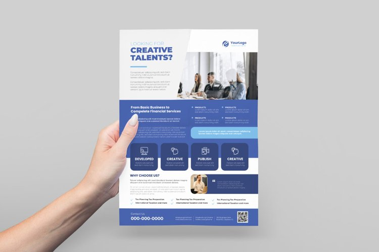 Business Agency Flyer Design example image 1