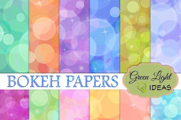 Bokeh Digital Papers example image 1