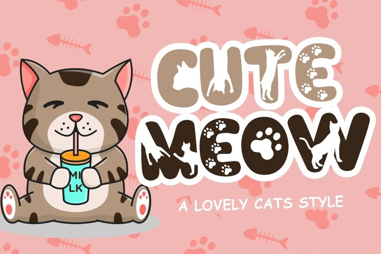 Cute Meow example image 1