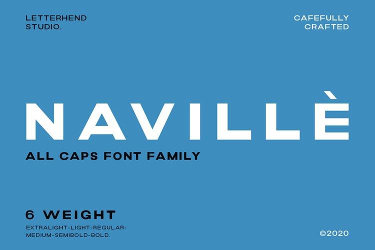 Navillè Family - 6 Fonts example image 1