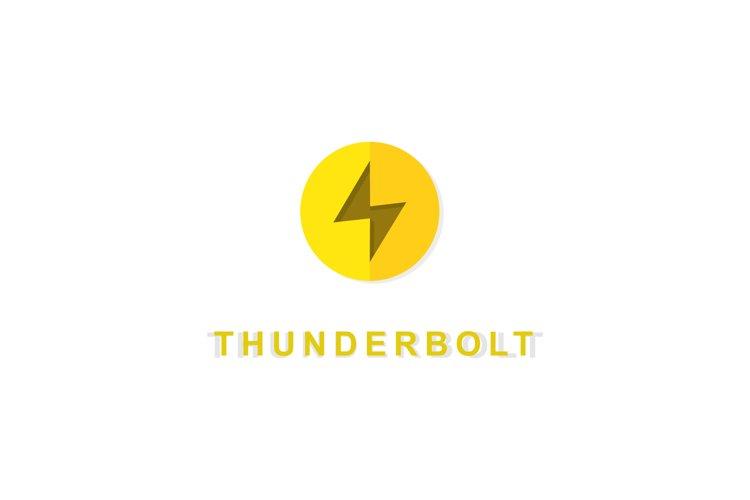 thunderbolt logo example image 1