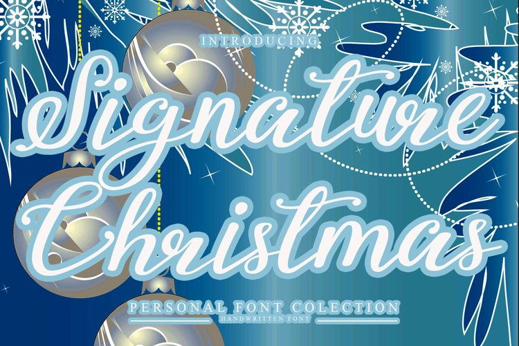 Signature Christmas example image 1