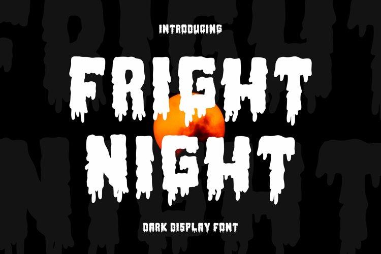Fright Night Font example image 1