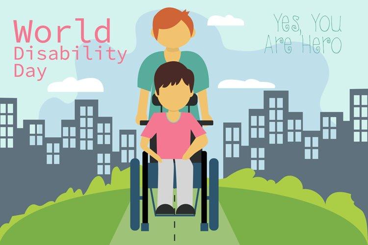 Disability Day Illustration example image 1