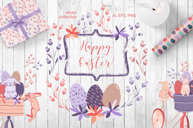Happy Easter - vector collection