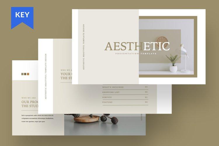 Aesthetic Brand Keynote