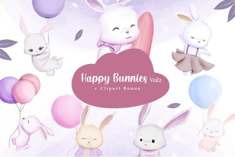 Happy Bunnies Vol.2 example image 1