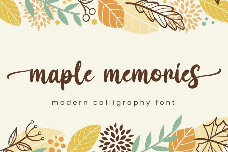 Maple Memories example image 1